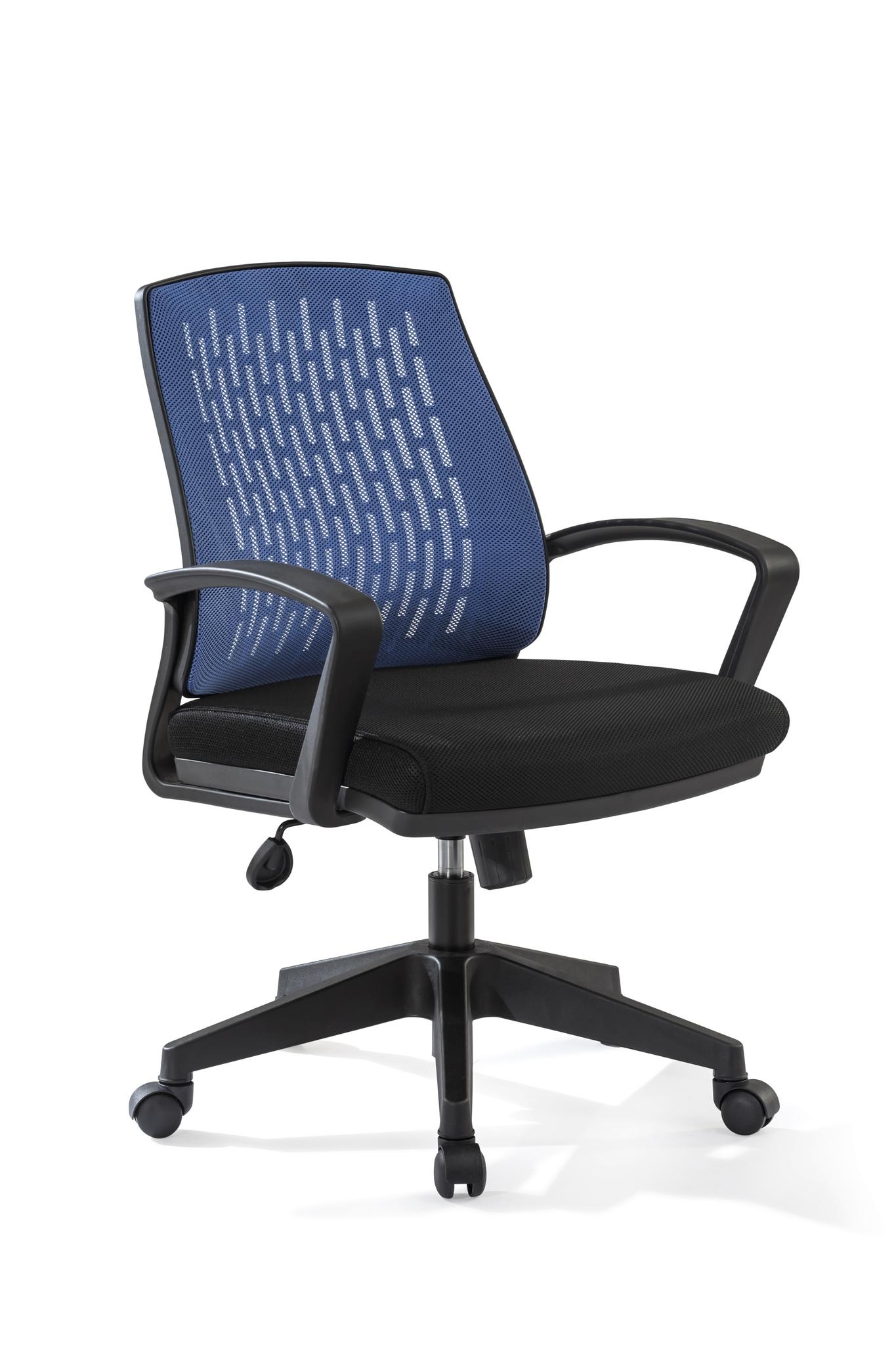 Scaun de birou Comfort Blue / Black