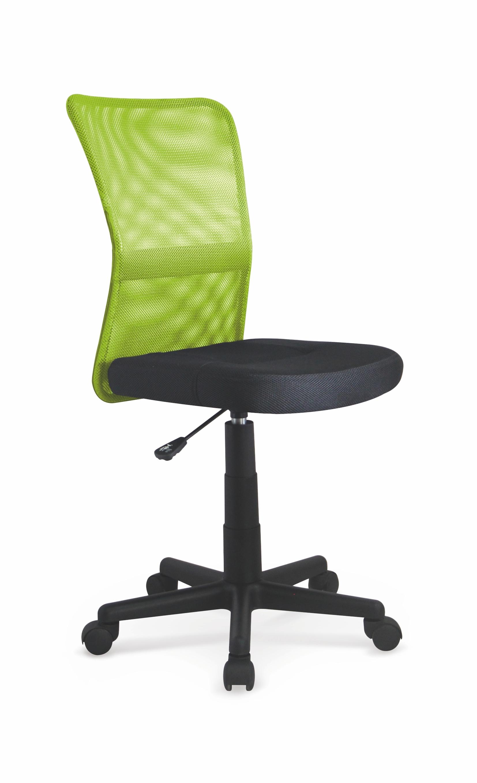 Scaun de birou ergonomic Dingo Lime Green / Black, l41xA56xH86-98 cm