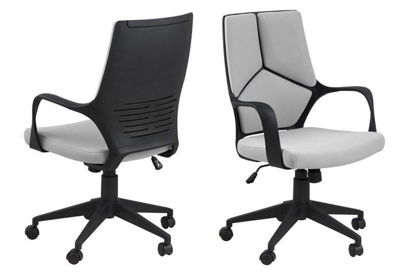 Scaun de birou ergonomic Dubnium Light Grey