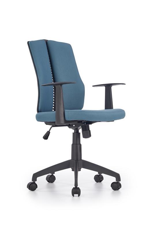 Scaun de birou ergonomic Iron Turquoise, l59xA58xH96-106 cm vivre.ro