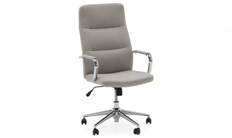 Scaun de birou ergonomic Larsson Beige l595xA67xH116 cm