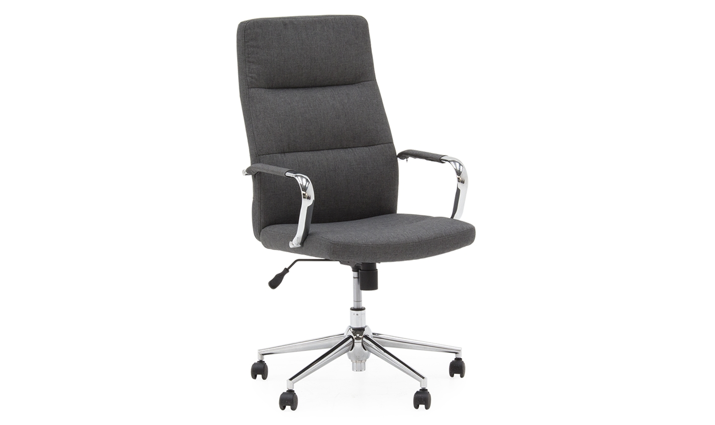Scaun de birou ergonomic Larsson Grey l595xA67xH116 cm