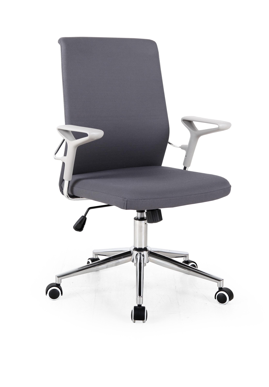 Scaun de birou ergonomic, tapitat cu stofa Ice Gri inchis, l61xA57xH91-98 cm