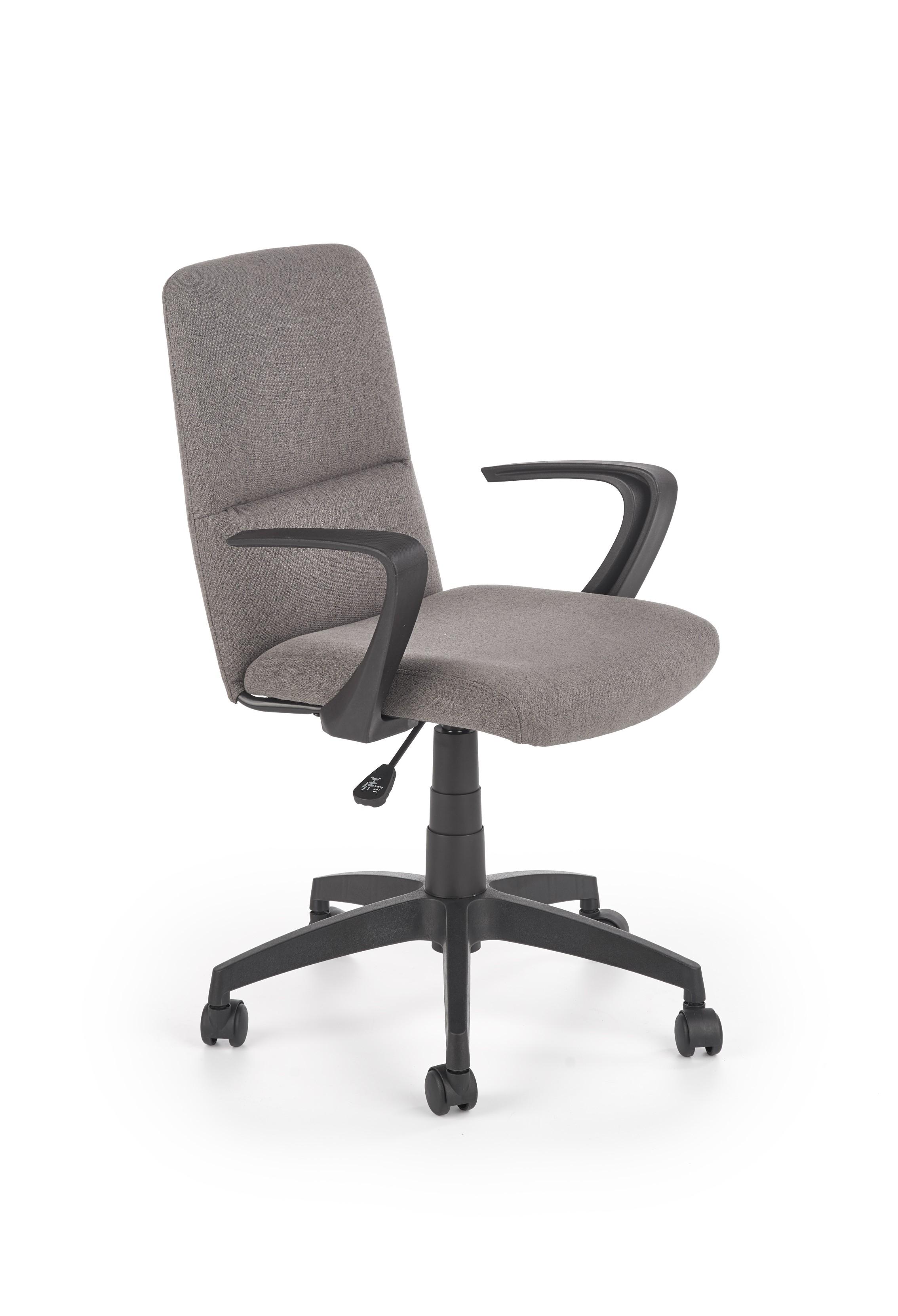 Scaun de birou ergonomic, tapitat cu stofa Ingo Gri, l60xA62xH83-91 cm imagine