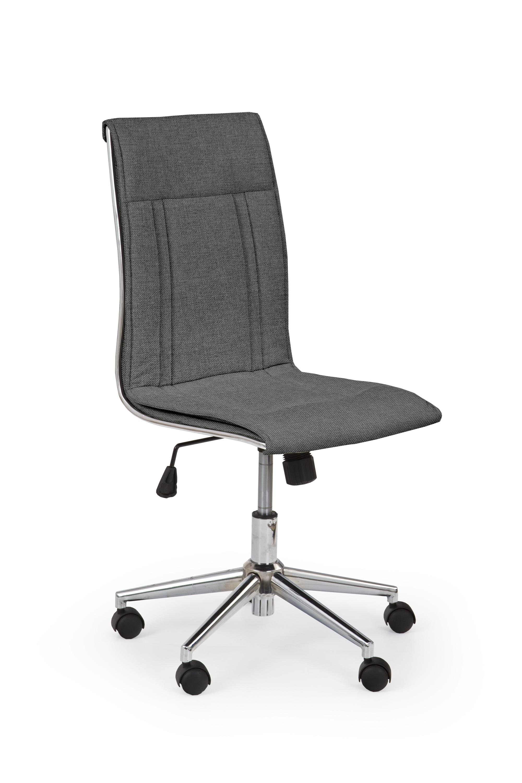 Scaun de birou ergonomic, tapitat cu stofa Porto 3 Gri inchis, l44xA57xH97-107 cm imagine