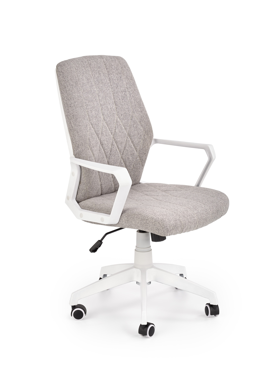 Scaun de birou ergonomic, tapitat cu stofa Spin 2 Bej, l58xA59xH98-104 cm poza