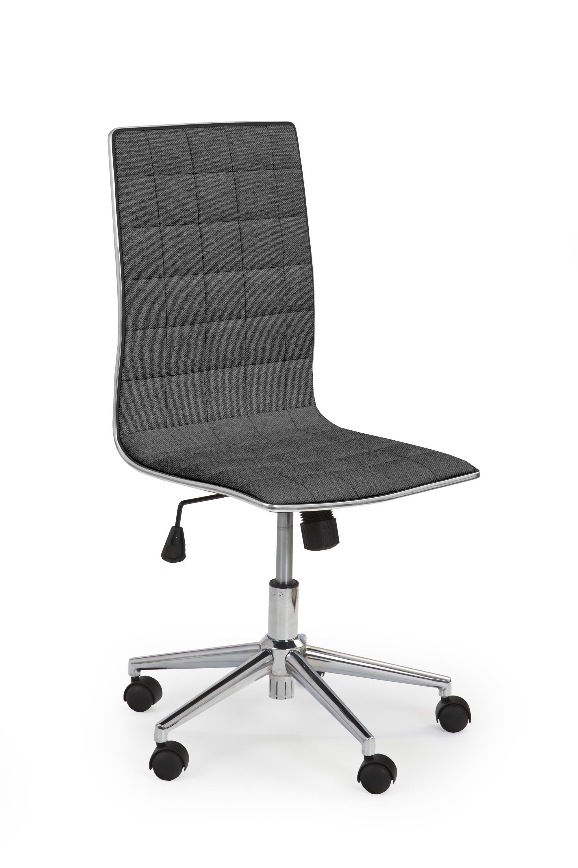 Scaun de birou ergonomic, tapitat cu stofa Tirol 2 Gri inchis, l44xA46xH97-107 cm somproduct.ro