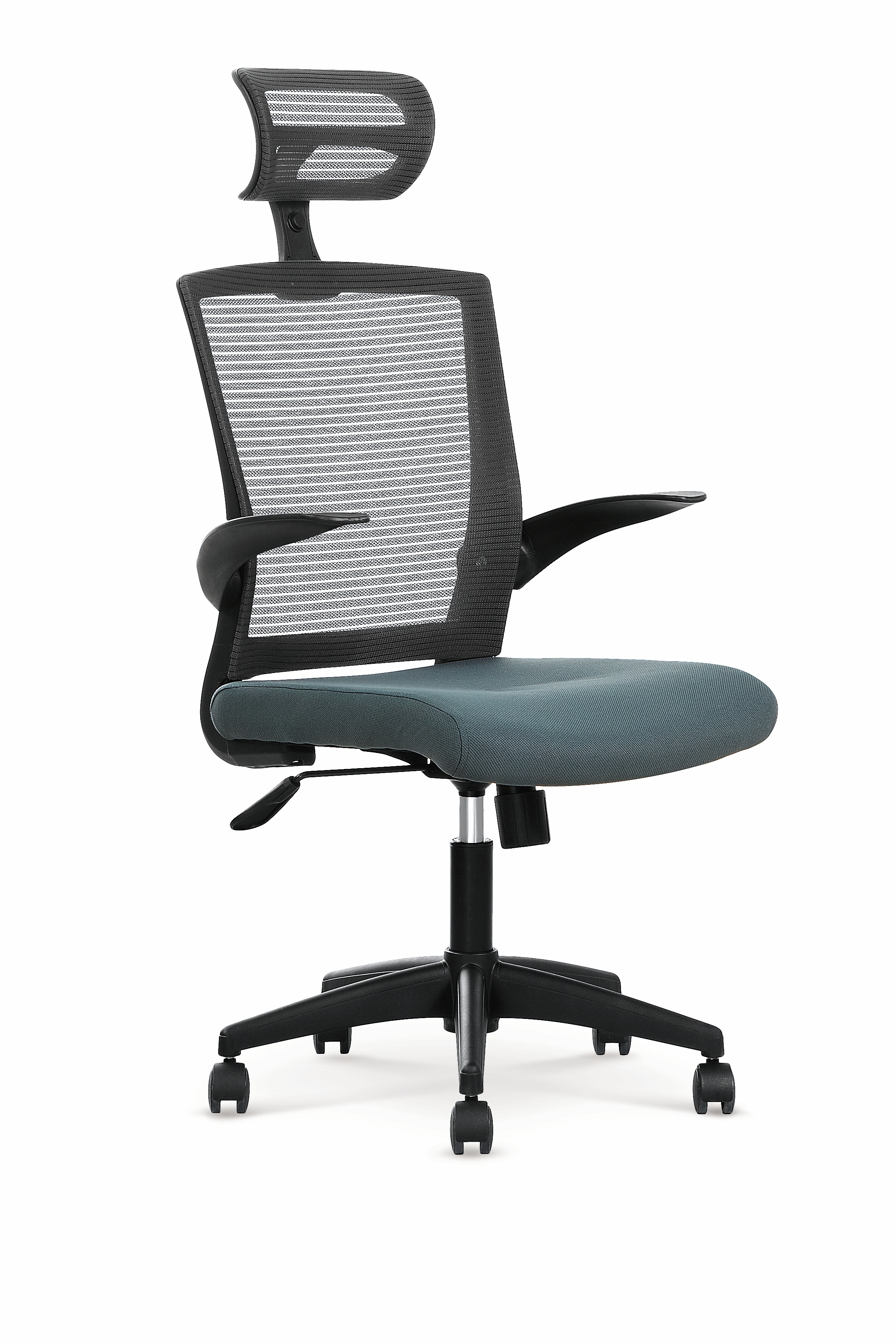 Scaun de birou ergonomic Valor Black / Grey, l64xA62xH115-125 cm