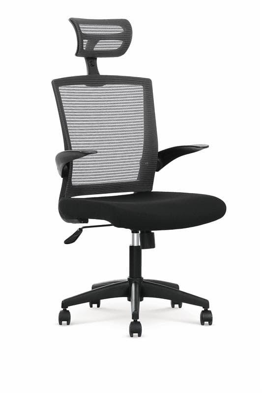 Scaun de birou ergonomic Valor Black / Grey, l64xA62xH115-125 cm imagine