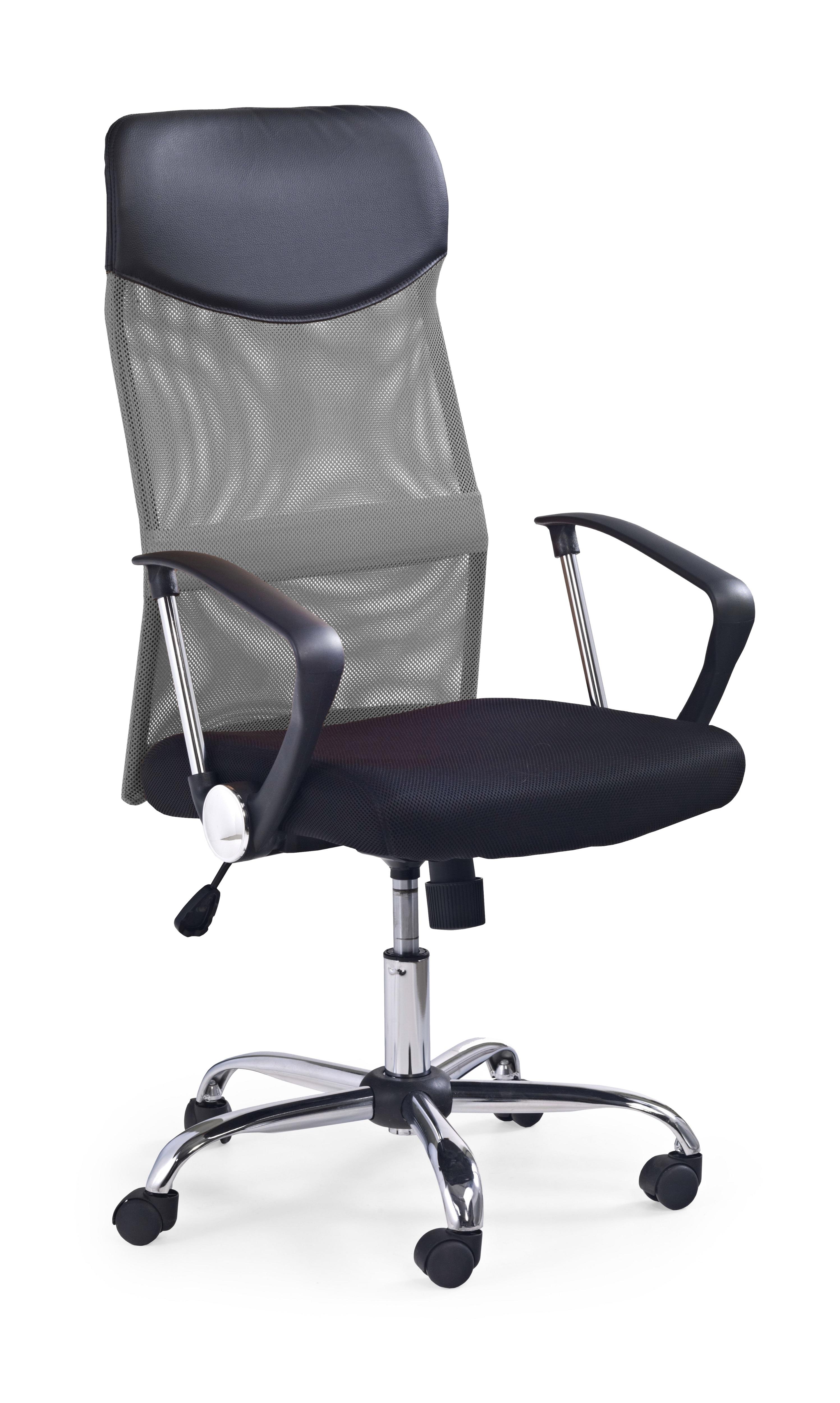 Scaun de birou ergonomic Vire Grey, l61xA63xH110-120 cm vivre.ro
