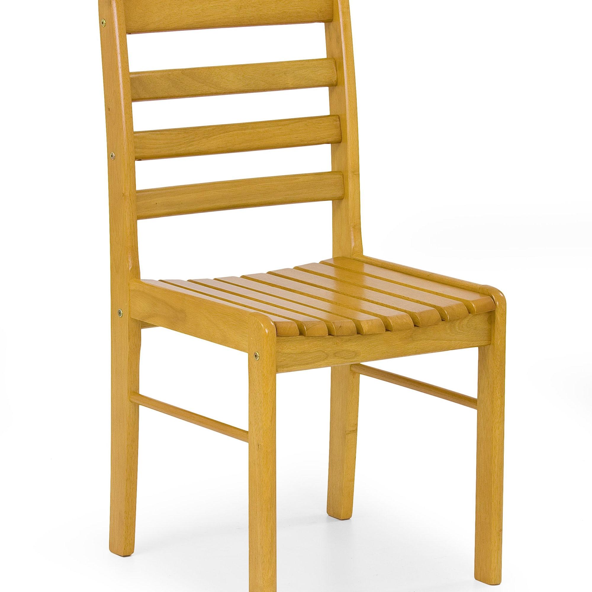 Scaun din lemn Bruce Alder, l43xA51xH83 cm