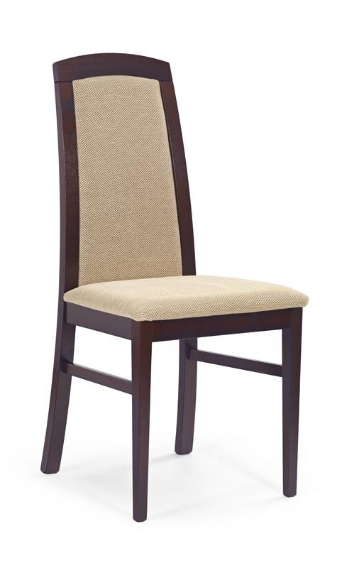 Scaun din lemn de fag Dominik nuc