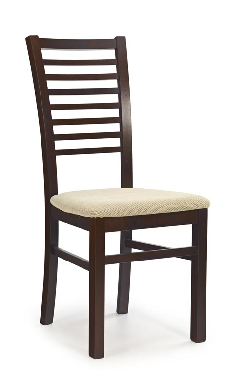 Scaun din lemn de fag Gerard 6 nuc