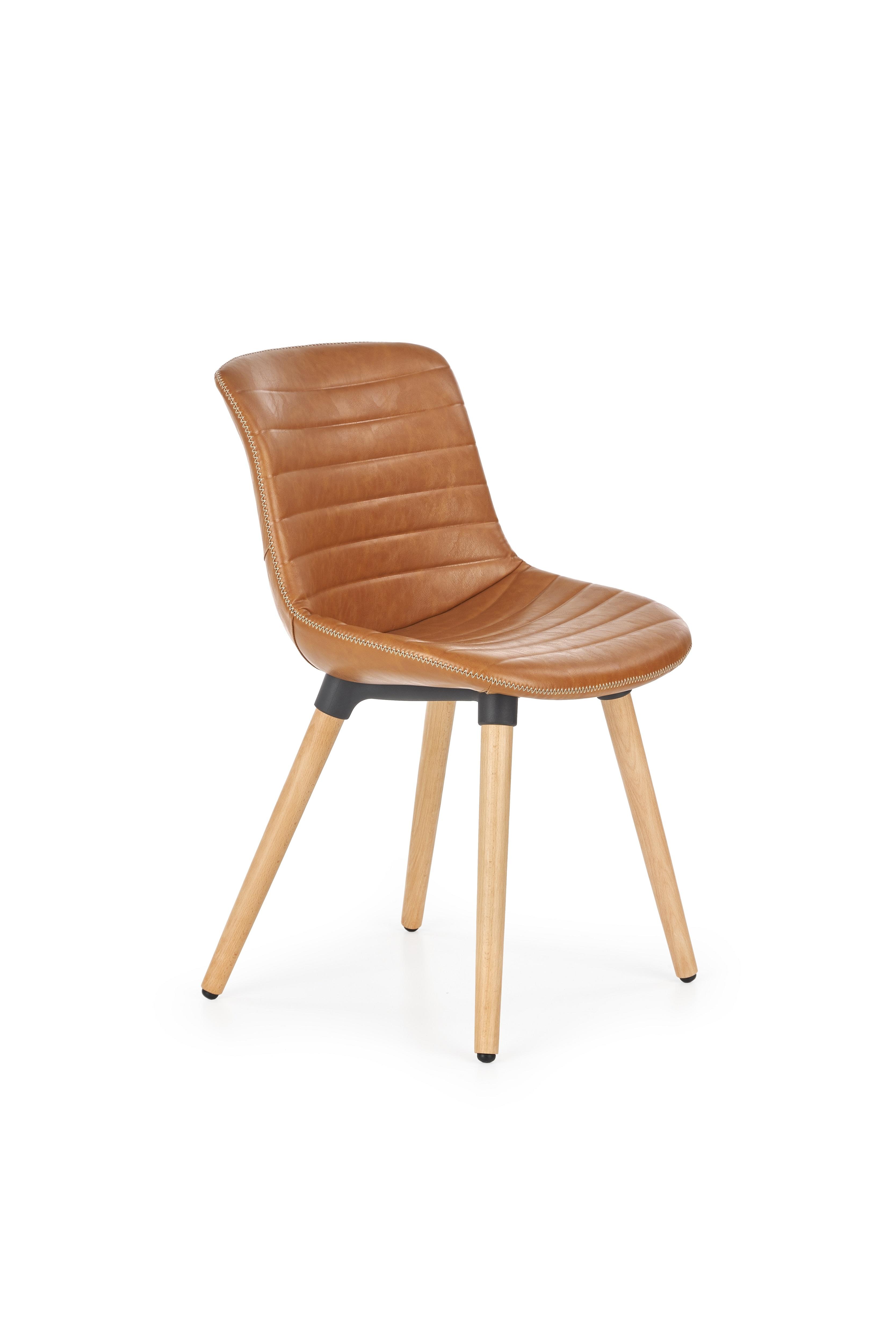 Scaun tapitat din lemn K267 Brown