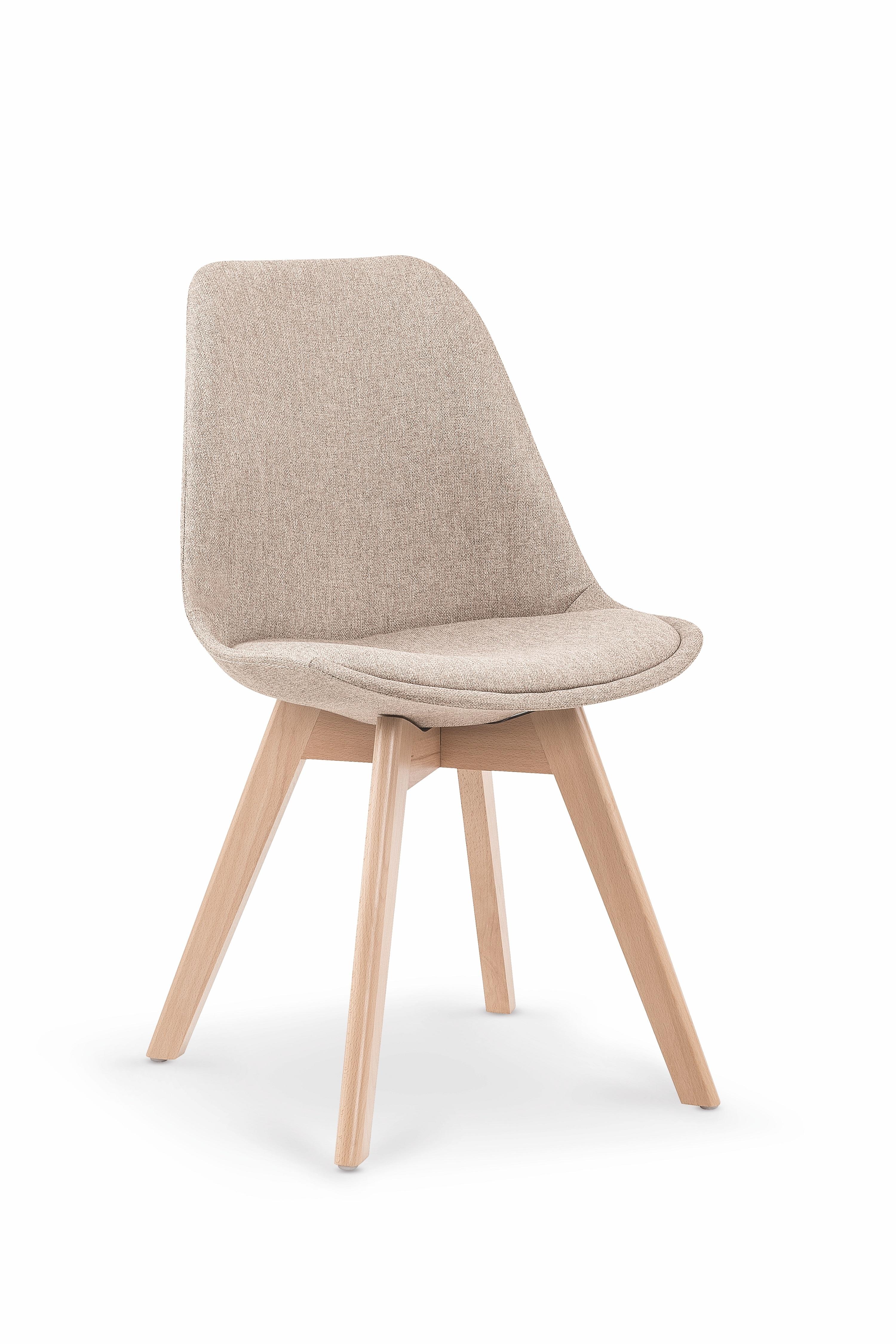 Scaun tapitat din lemn K303 Beige