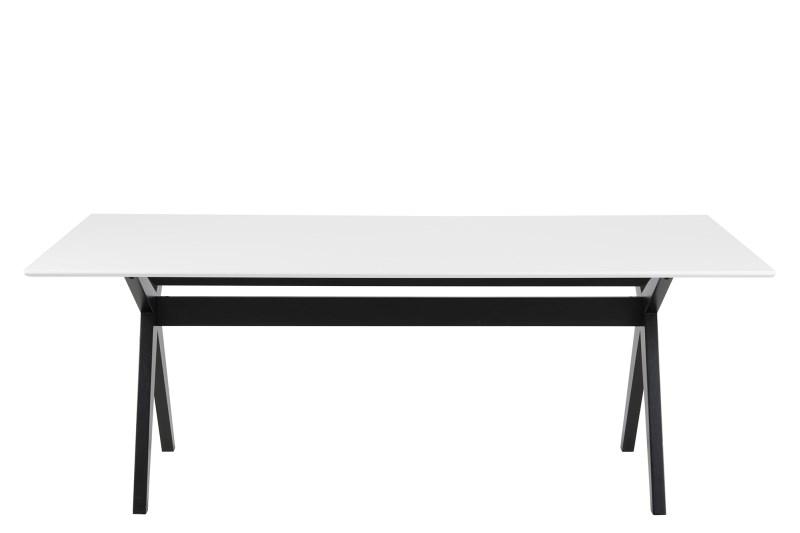 Masa Scissor White/Black, L180xl90xh74 cm