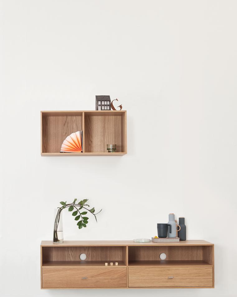 Set de mobila din furnir de stejar Ide title=Set de mobila din furnir de stejar Ide