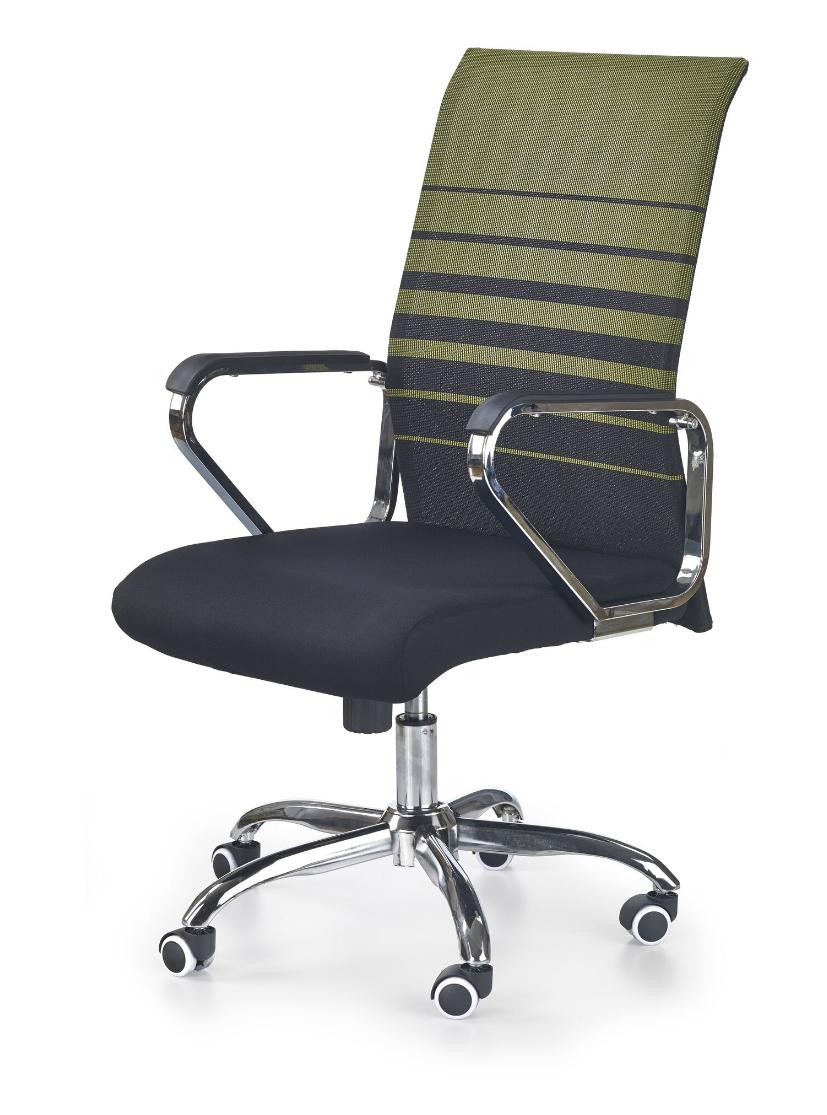 Scaun de birou ergonomic Volt Black/Green