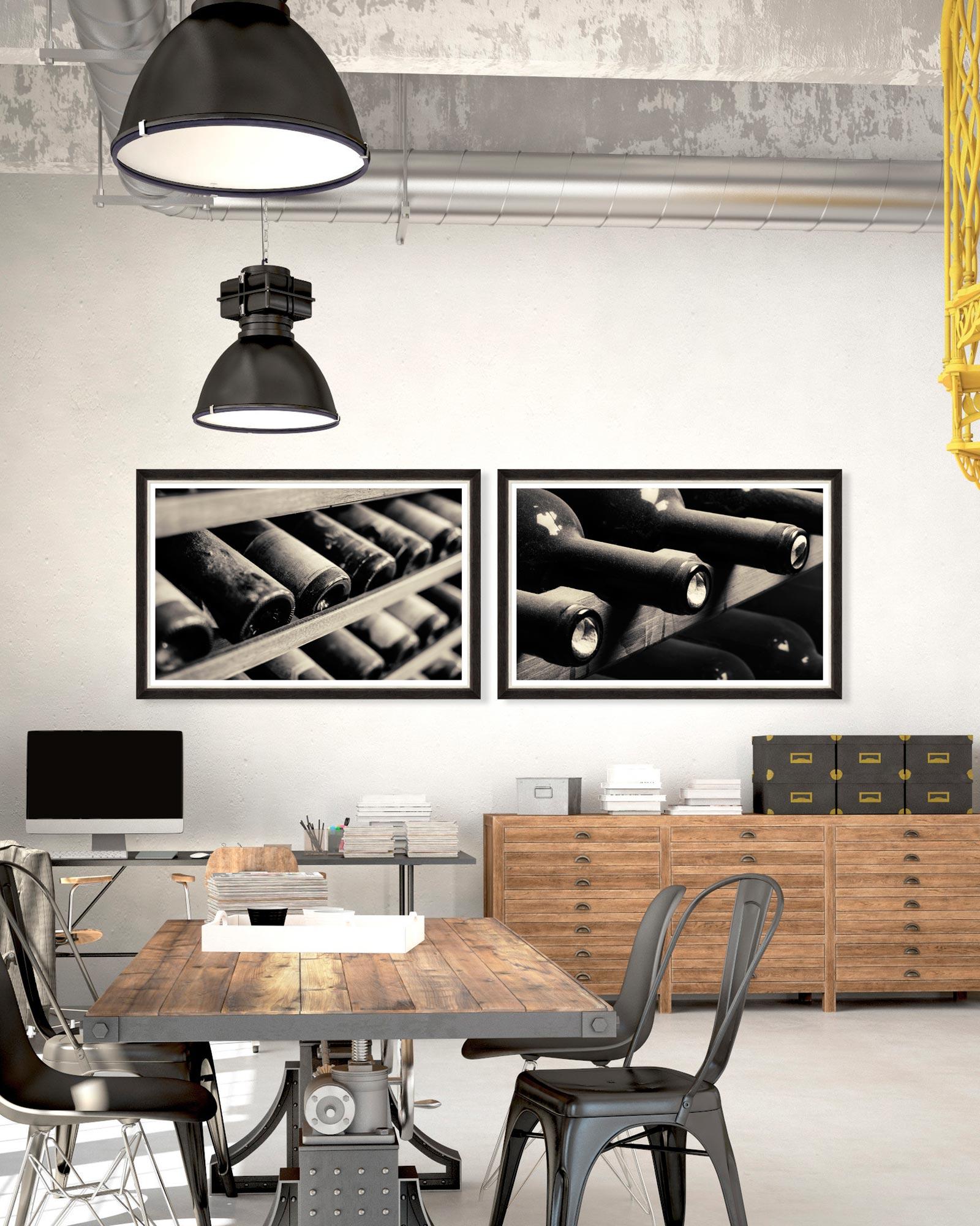 Tablou 2 piese Framed Art Selected Wines I&II