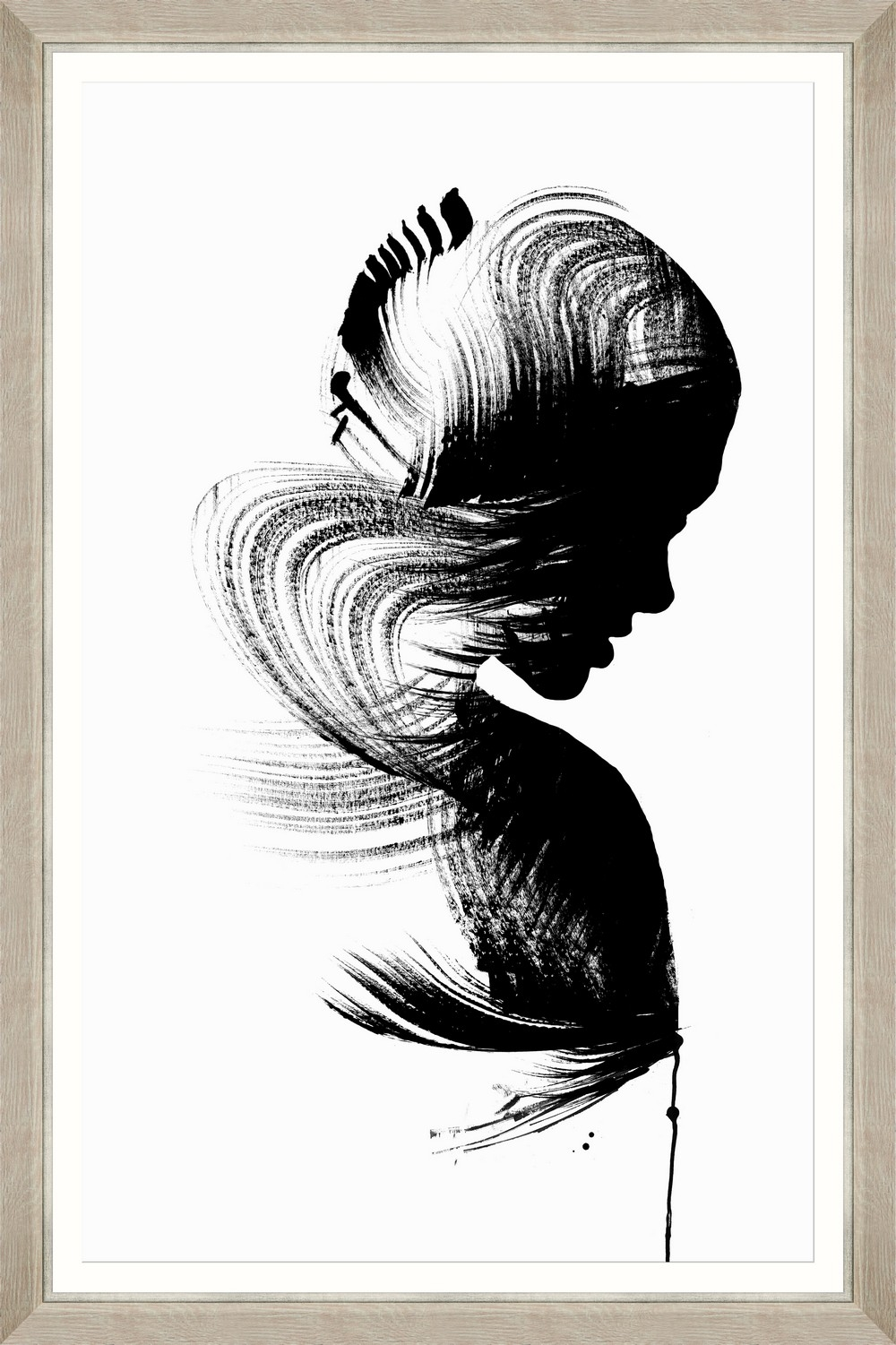 Tablou Framed Art Sensual Figure I