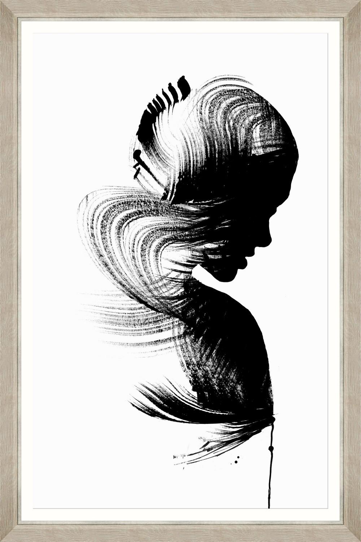 Tablou Framed Art Sensual Figure I imagine