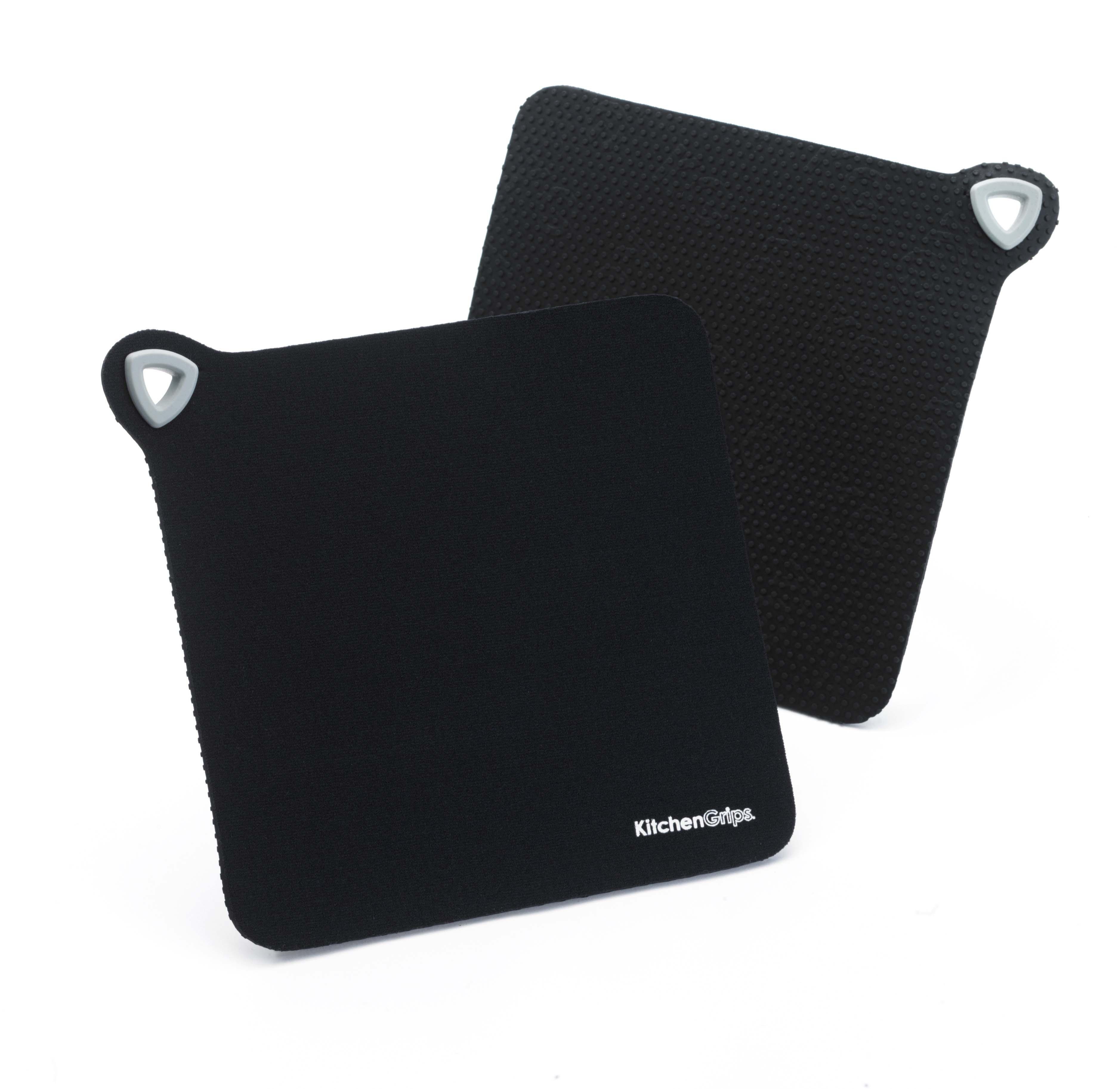 Set 2 suporturi oala Kitchen Grips Black / Black