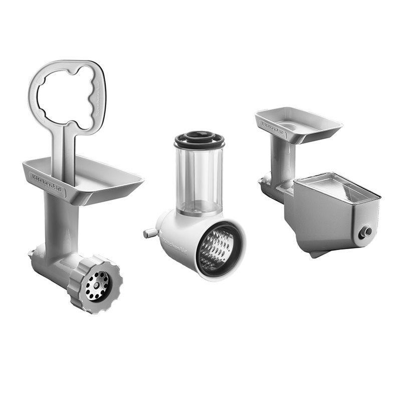 Set 3 accesorii pentru mixer 5KSMFPPC Silver KitchenAid