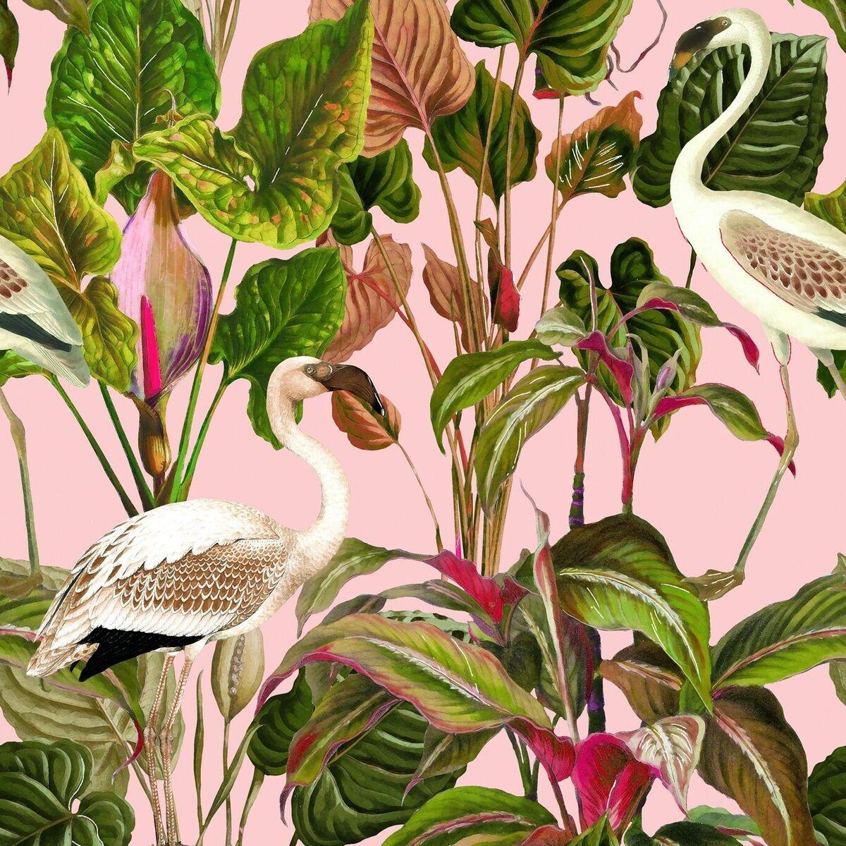 Set 3 role Tapet Imprimat Digital Beverly Hills Pink imagine