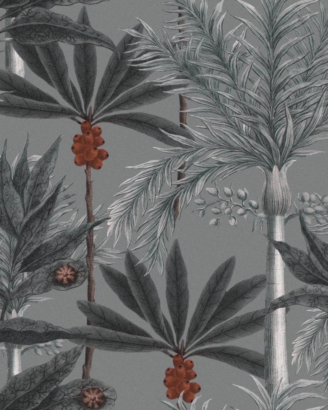 Set 3 role Tapet Imprimat Digital Madagascar Grey