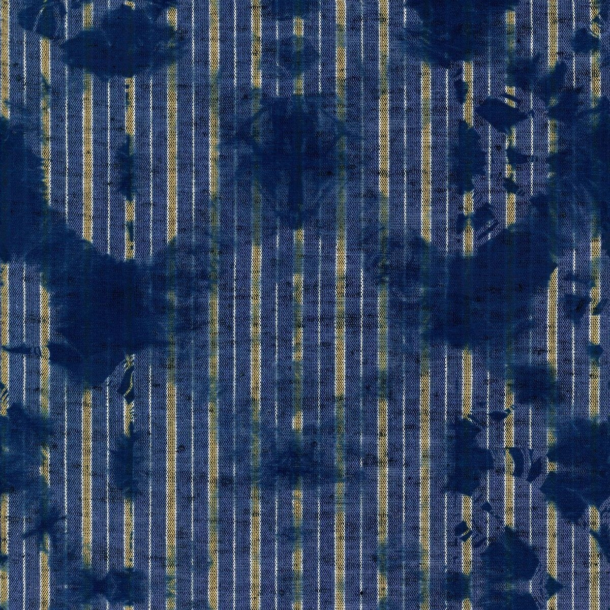 Set 3 role Tapet Imprimat Digital Washed Shibori Indigo imagine