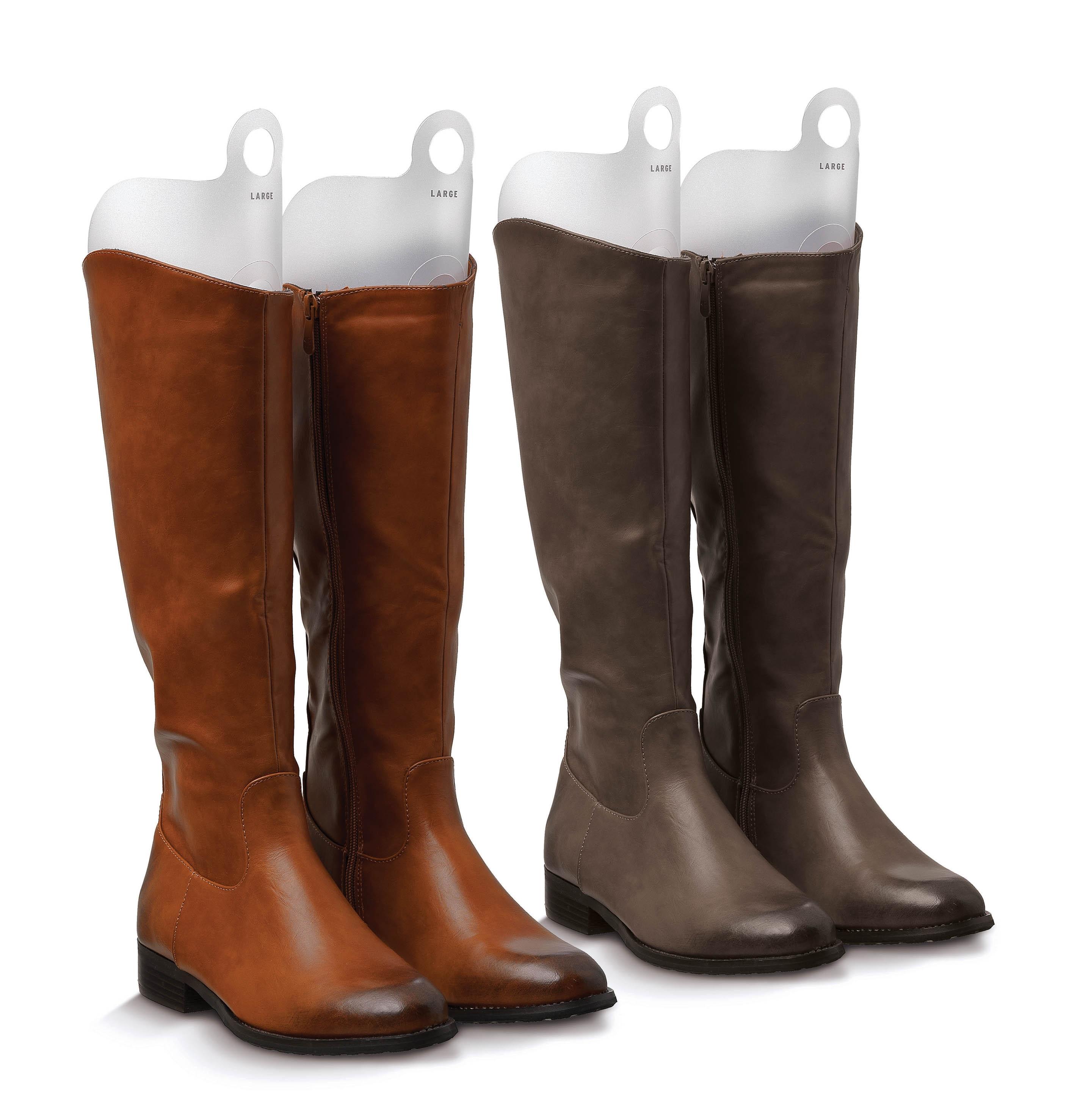 Set calapoade pentru cizme, 4 bucati, Boot Transparent, l25xH44 cm imagine