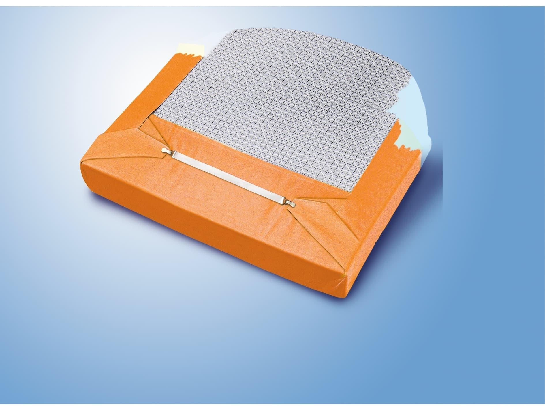 Set 4 curele pentru intins husa pe masa de calcat, Fasteners Alb, L29xl2,5 cm imagine