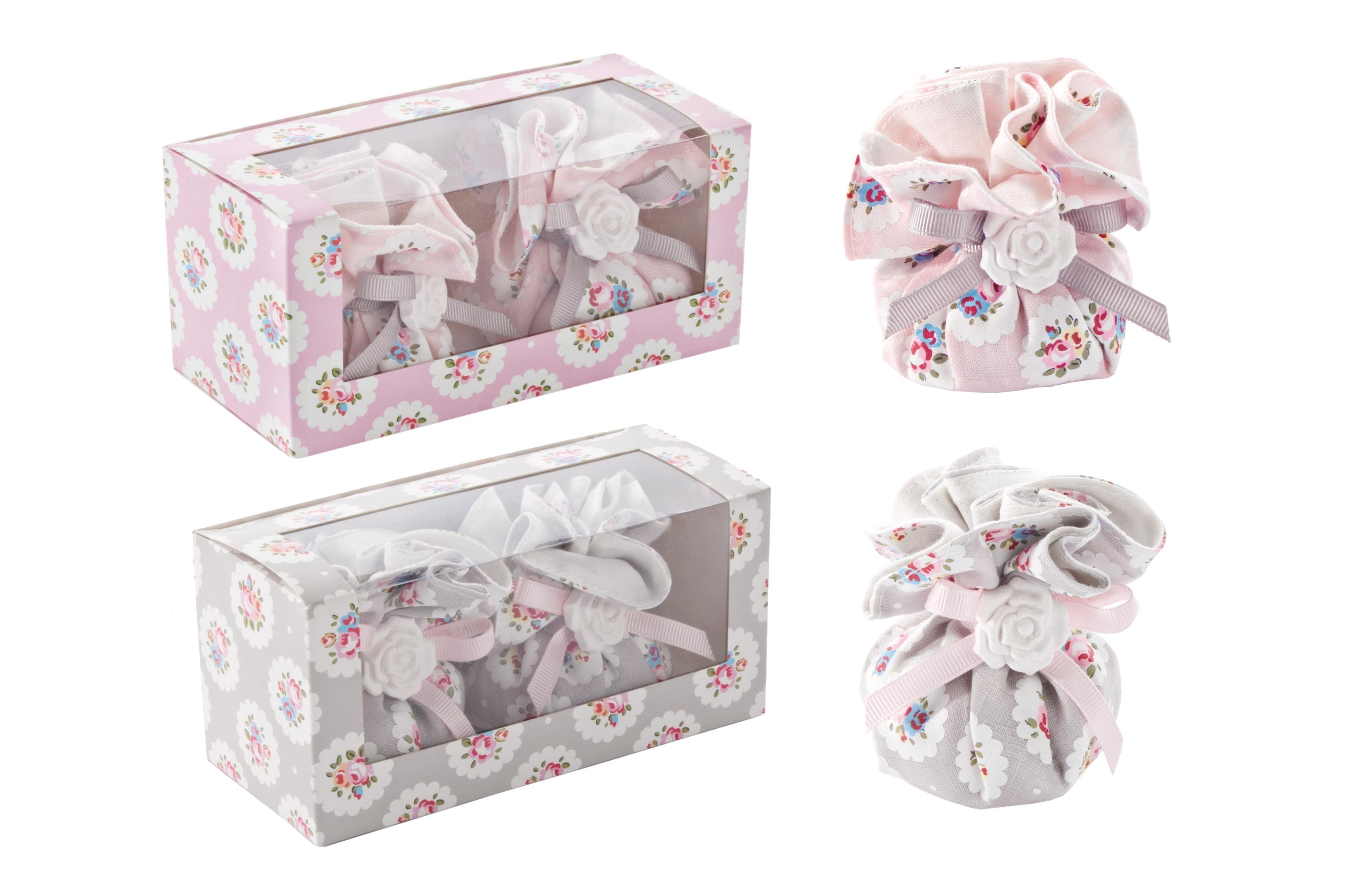Set aromaterapie, 2 piese in cutie cadou, Vintage Rose, Modele Asortate, L15xl6,5xH7 cm imagine