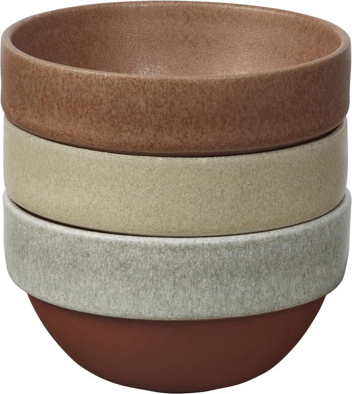 Set boluri ceramica Ø 11 cm, Jamie Oliver, 3 piese imagine
