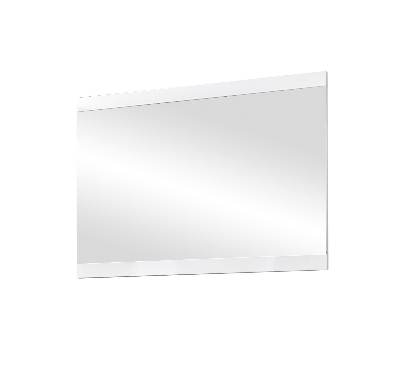 Oglinda din MDF, Life Alb, 92 x 66 cm imagine