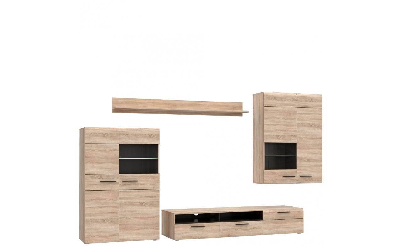 Set de mobila living 4 piese Combo Small