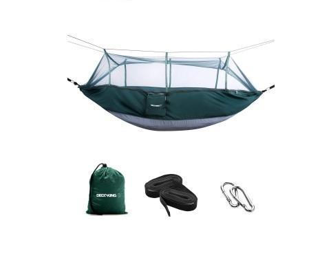Set Hamac cu plasa pentru insecte Tnyl Green/Grey