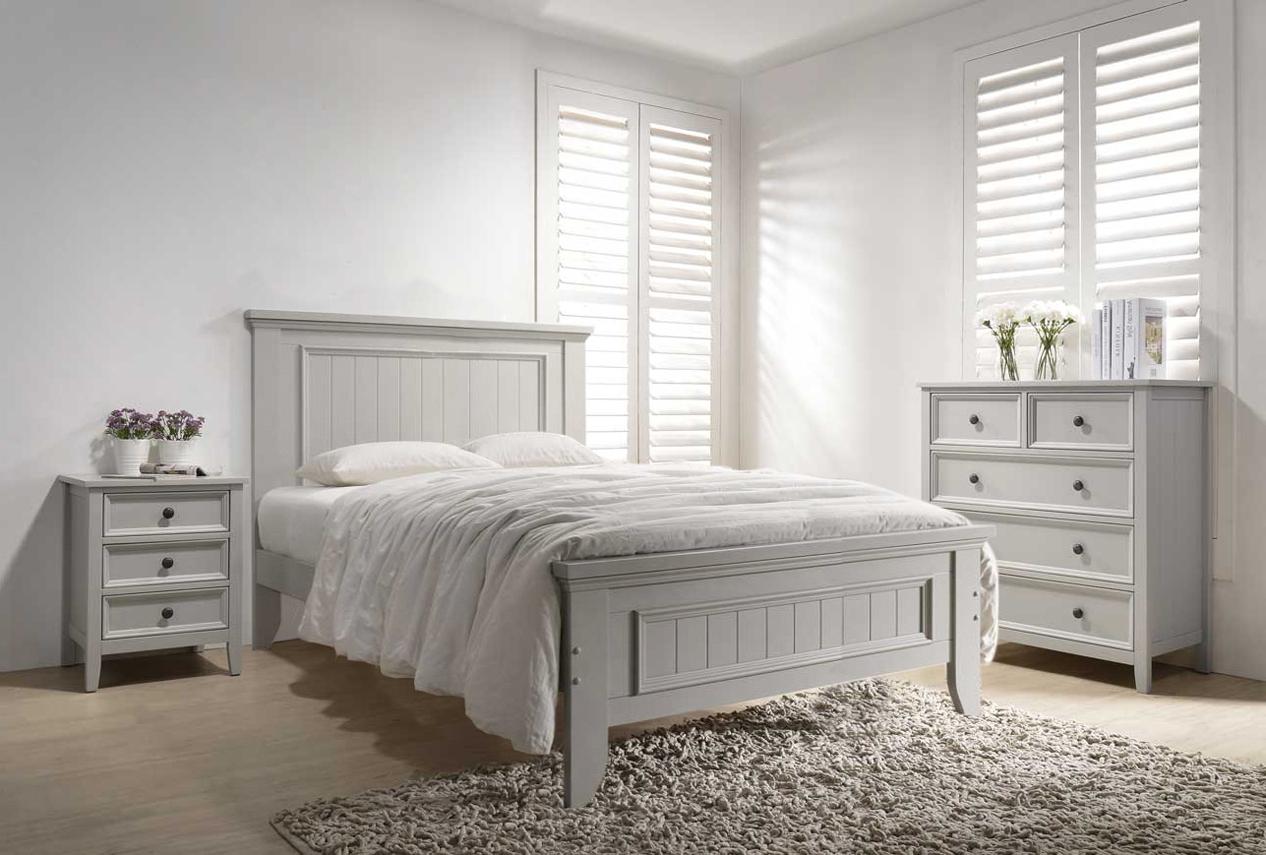 Set Mobila Dormitor Lemn Plop Poza