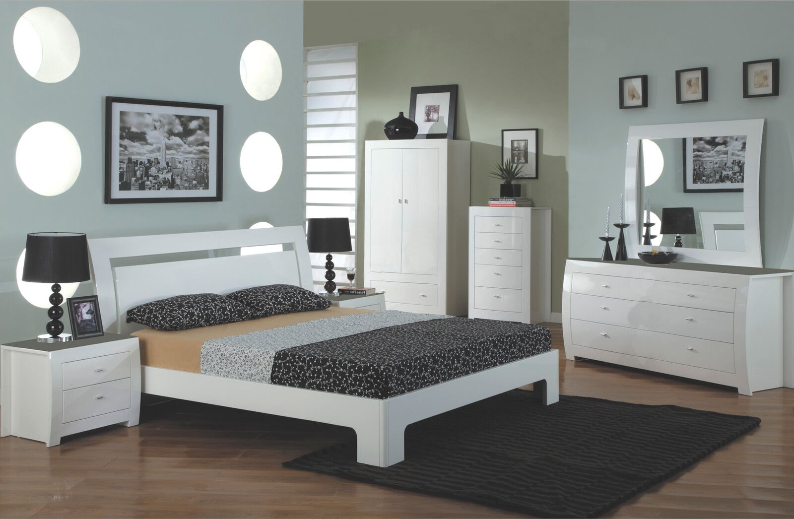 Set Mobila Dormitor Mdf - 88