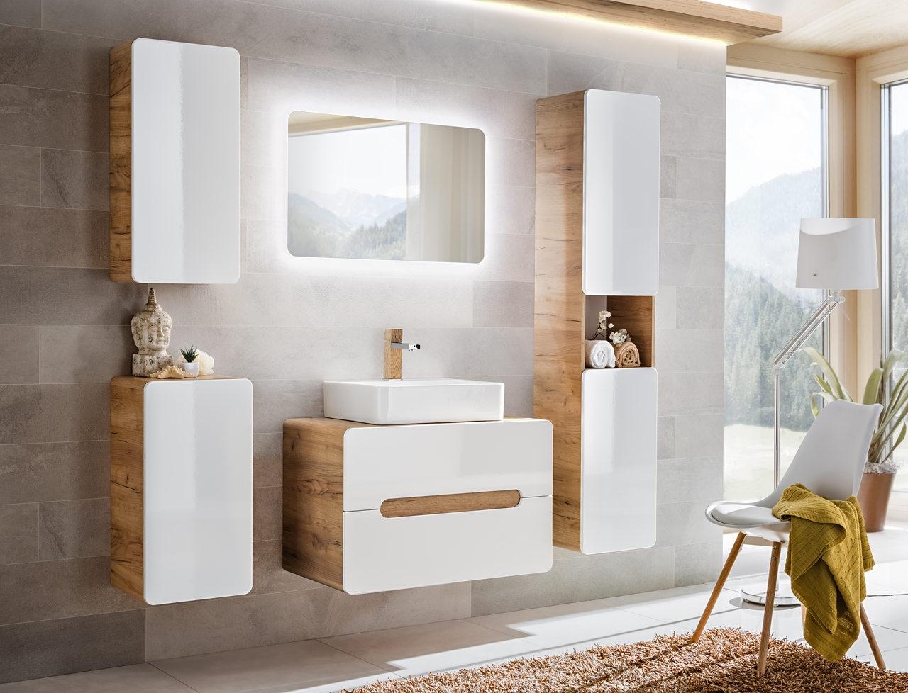 Set Mobilier pentru baie, 6 piese, Aruba Large imagine
