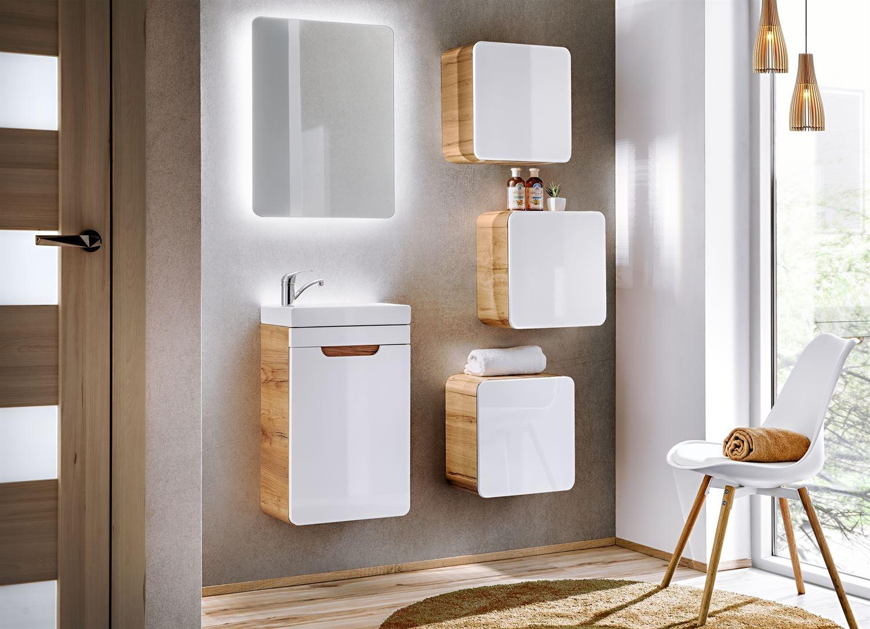 Set Mobilier pentru baie, 6 piese, Aruba Small imagine