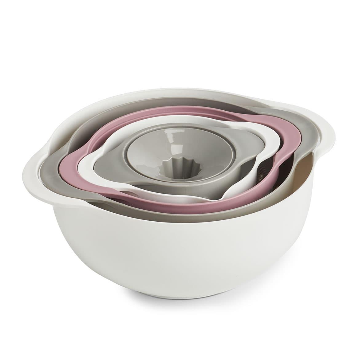 Set multifunctional pentru bucatarie, din plastic, Kitchen Multicolor, 5 piese, Ø31,7xH12,5 cm imagine