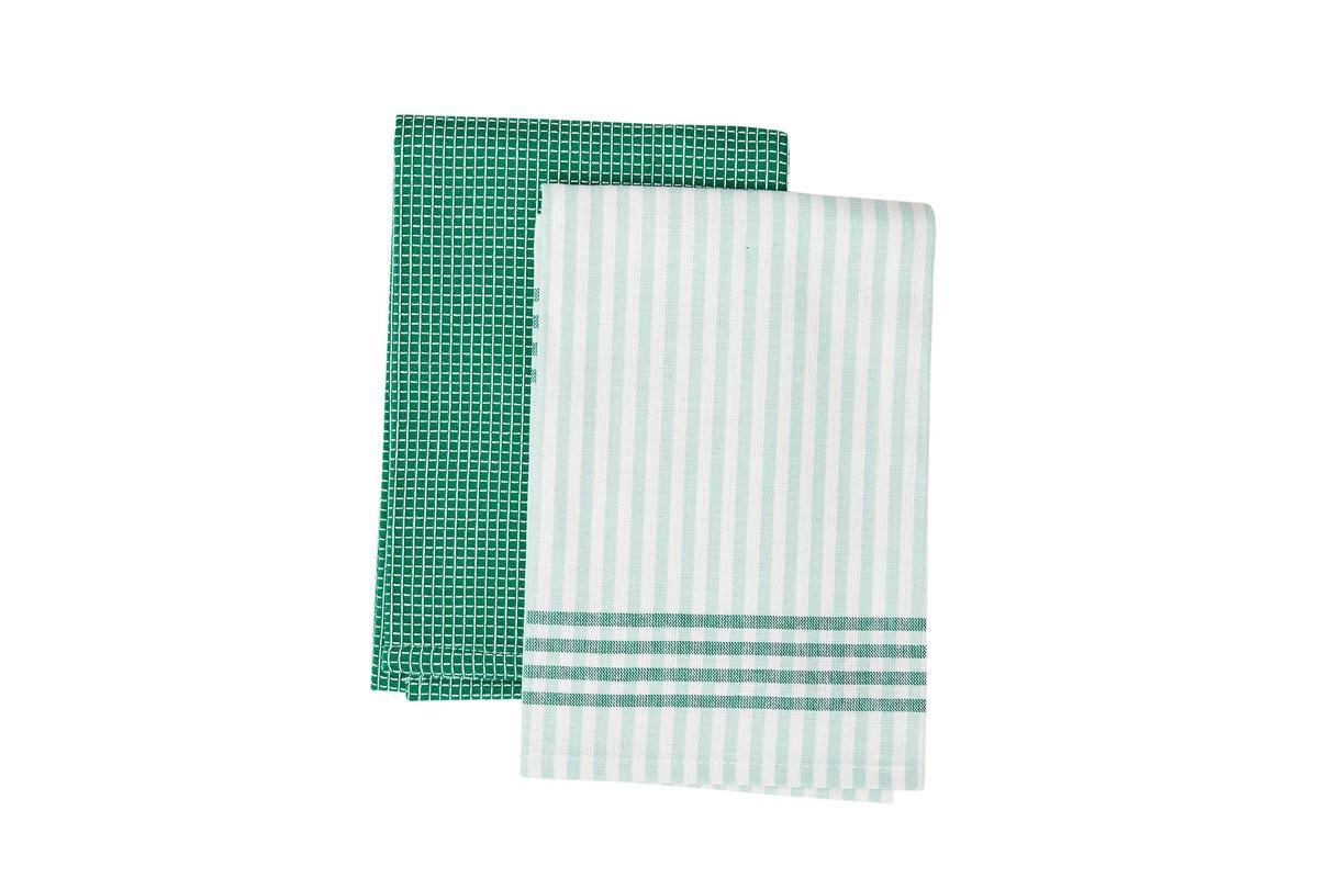 Set prosoape de bucatarie 45 x 70 cm, Evergreen, Jamie Oliver, 2 buc imagine