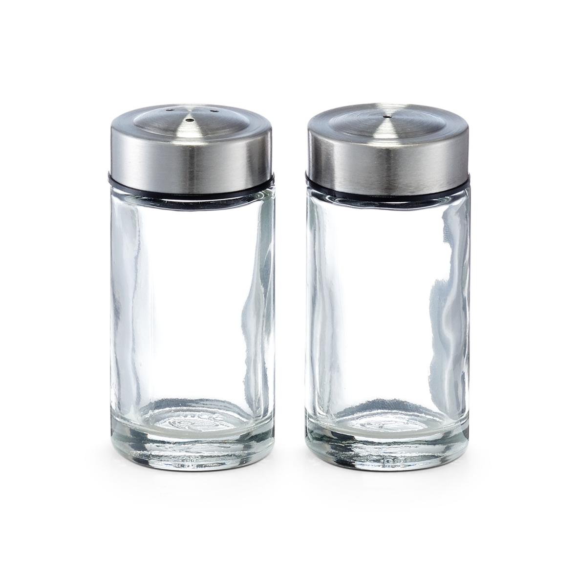 Set solnita si pipernita din sticla, 35 ml, Ø 3,8xH8 cm imagine