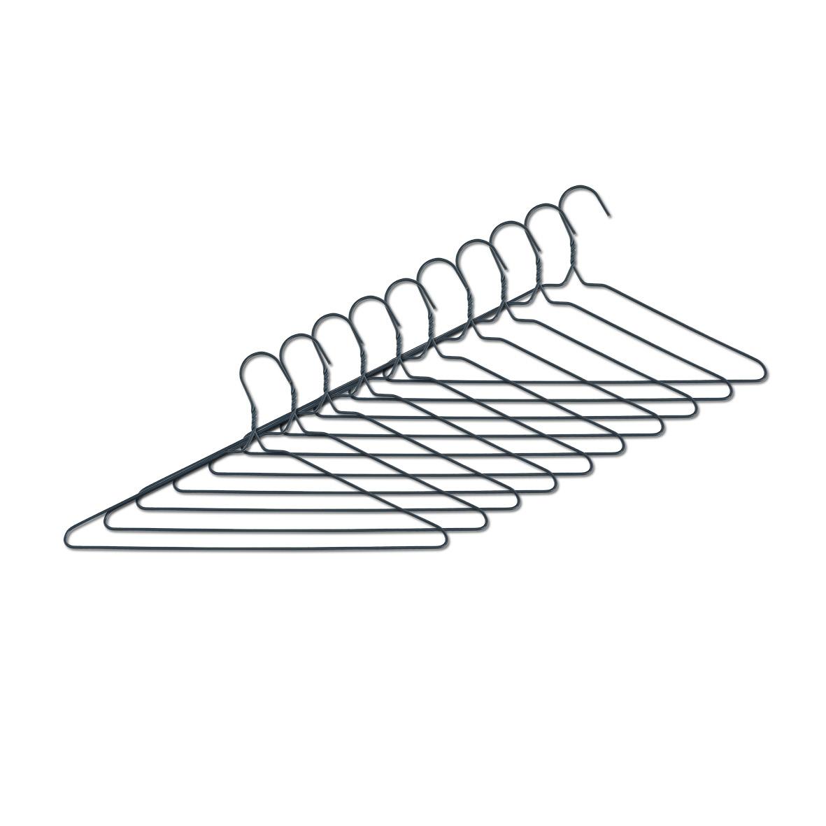 Set umerase metalice, Scandi Gri, l40xH21,3 cm, 10 bucati imagine
