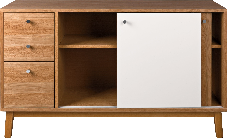 Comoda Evie Oak L130xl40xh72,5 Cm
