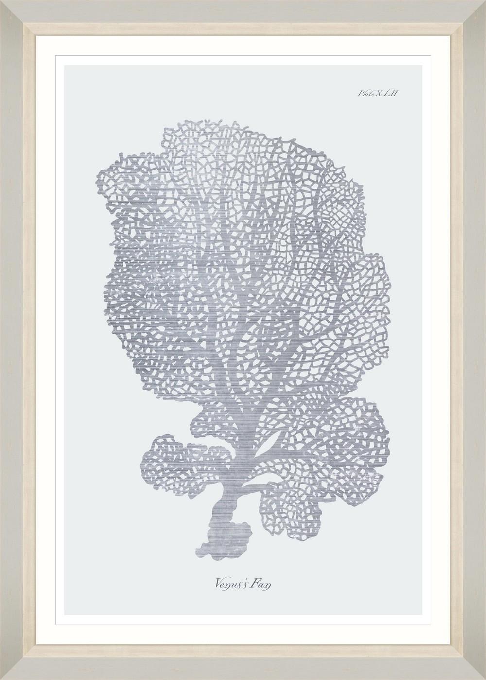 Tablou Framed Art Silver Coral I imagine