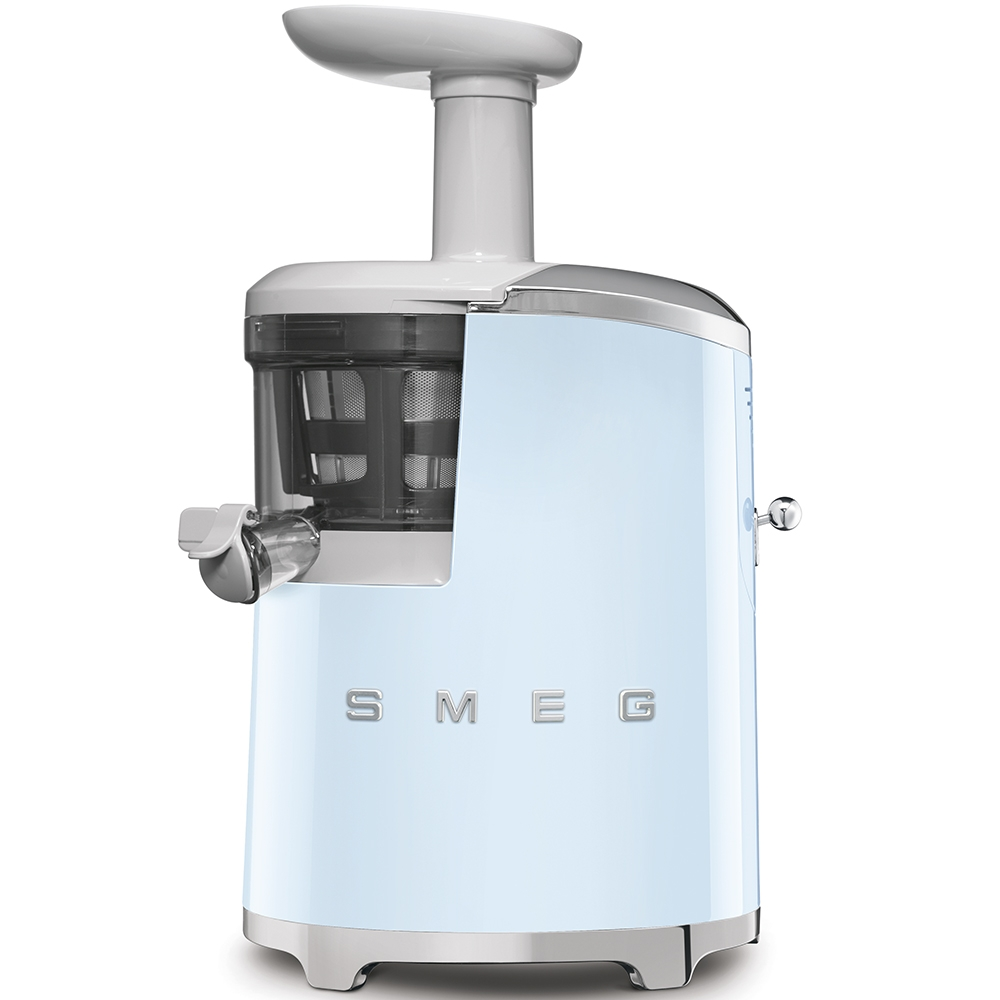 Storcator prin presare la rece SJF01PBEU Albastru Pastel Retro 50 SMEG