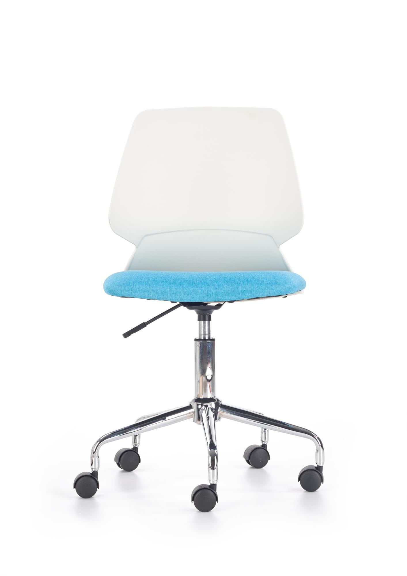 Scaun de birou pentru copii Skate White / Blue, l47xA50xH87-97 cm