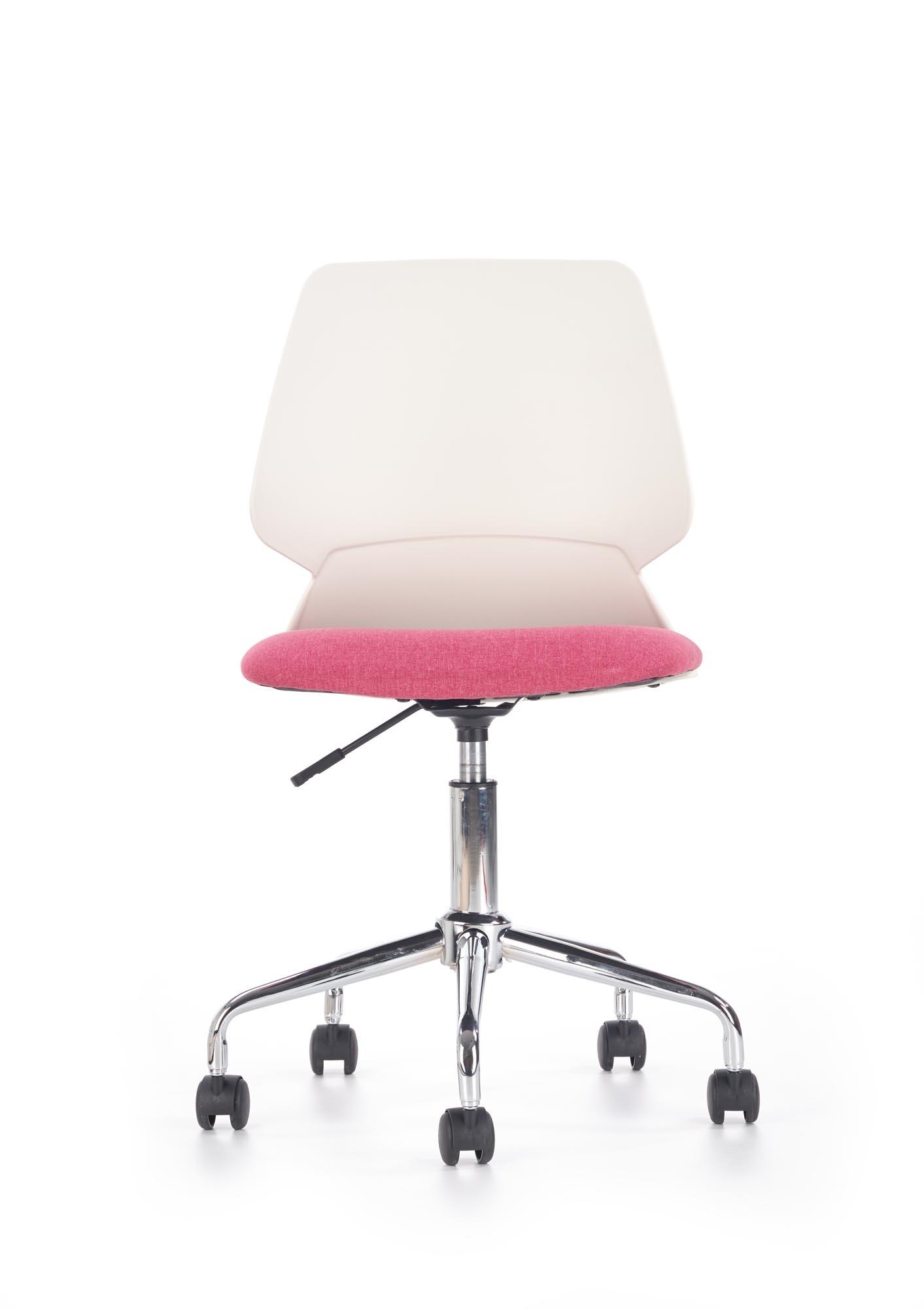 Scaun de birou pentru copii Skate White / Pink, l47xA50xH87-97 cm imagine